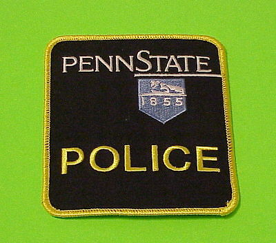 Penn State  Pennsylvania  1855  Pa   Police Patch   Free Shipping!!!