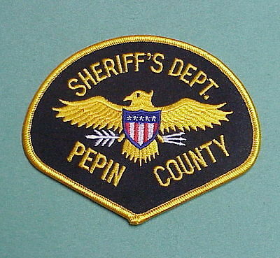 Pepin County  Wisconsin  Wi  Police Patch   Nice!   Free Shipping!!!