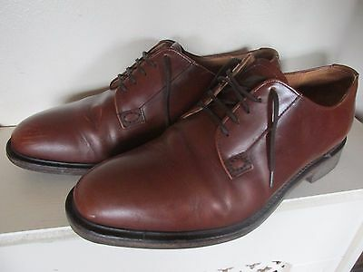Mens Loake Waverley Tan Brown  Lace Up Shoes Size Uk 11
