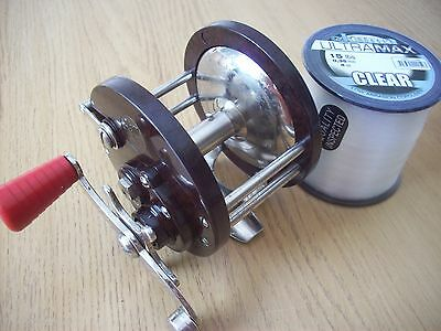 Penn 85 multiplier sea fishing reel with new spool of line