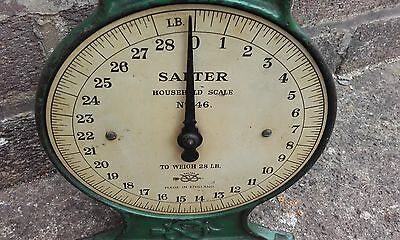 Vintage retro Salter scales No 46 made in England country kitchen/ tea room