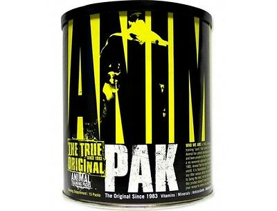 Universal Animal Pak 15 Pak Multivitamins - Free UK Delivery