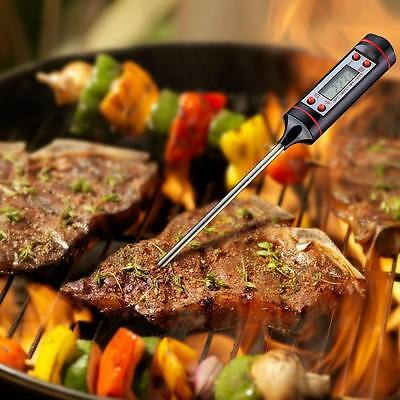 Stainless Food Digital Instant  Read Cooking Thermometer  for Kitchen Grill BBQ