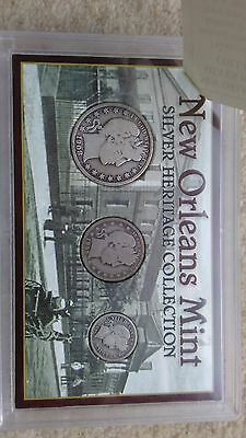 New Orleans Mint Silver Heratage Collection Liberty Coins