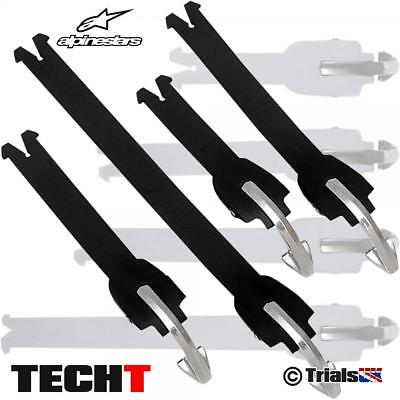 Alpinestars TECH-T Trials Boot Spare Strap Kit in Black or White