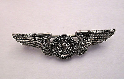 Antique Pennsylvania State College Sterling Silver Wing Seal Pin Lapel Pin