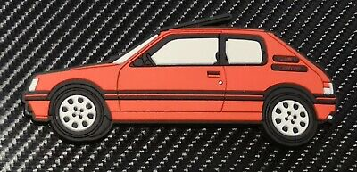Peugeot 205 gti fridge magnets , Cherry Red