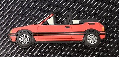 Peugeot 205 Cti fridge magnets , Cherry Red