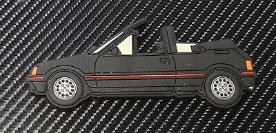 Peugeot 205 Cti fridge magnets , Black