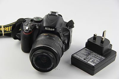 Nikon D D5100 16.2MP Digital SLR Camera - Black (Kit w/ 18-55mm Lens) GRADE B
