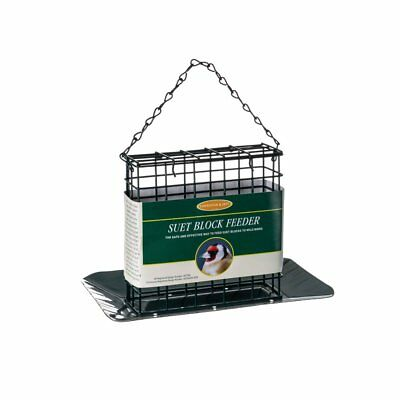Johnston & Jeff Suet Block Feeder - Wild Bird Suet Block Feeder