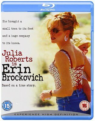 Erin Brockovich [Blu-ray] [2000] [2008] [Region Free] New Sealed UK Release