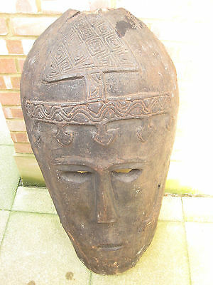 Huge Old Tribal Mask African Pacific Ocianic