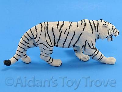 "Safari Ltd 273129 White Bengal Tiger Replica - 6"" Big Cat Mammal Figurine"