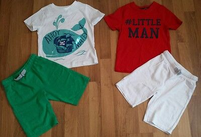 boys 4-5 years summer clothes bundle - 12 items