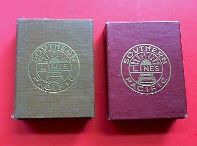 Vintage 1920's Southern Pacific Line Daylight Limited Playing Cards RARE & NICE
