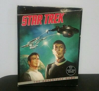Star Trek The Adventure Game by West End Games #11004