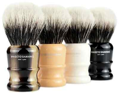 "MS - Extra Density 2 Band 100% Finest Badger Shaving Brush""Atlanta-B&I""24mm knot"
