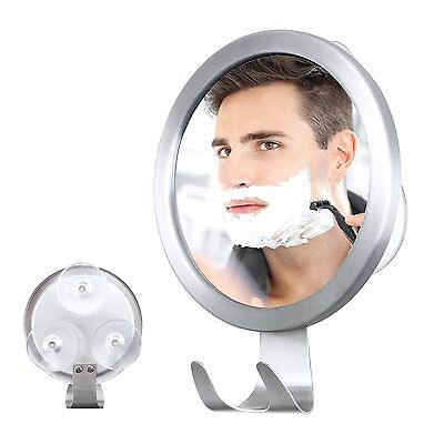 M-Better Fogless Shower Mirror with Razor Hook , Fog Free Mirror with Strong PVC