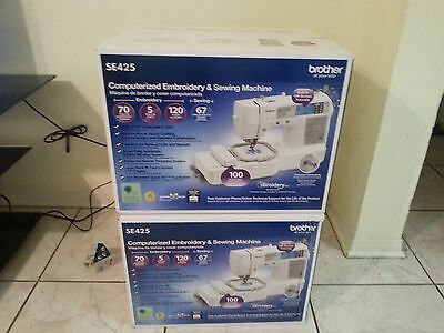 BROTHER SE-425 Computerized Sewing & Embroidery Machine (BRAND NEW IN BOX)