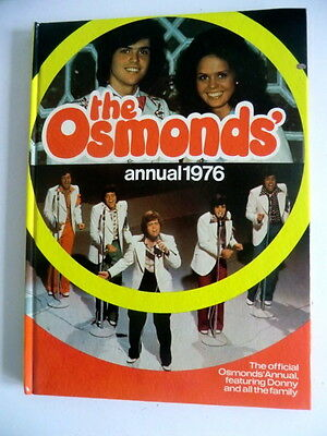 Rare Vintage Uk Hb Book - The Osmonds Annual 1976 - Unclipped