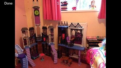 Monster High Playset Deadluxe High School Exclusive Dolls House w/ Accessories