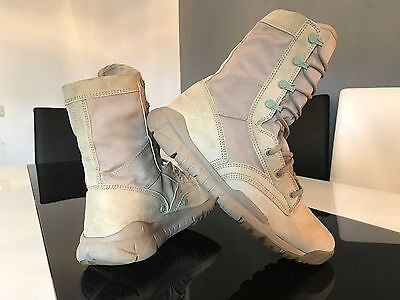 NIKE ZOOM Retro US ARMY MILITARY BROWN Leder Schuhe BOOTS Classic BEIGE Gr. 40,5
