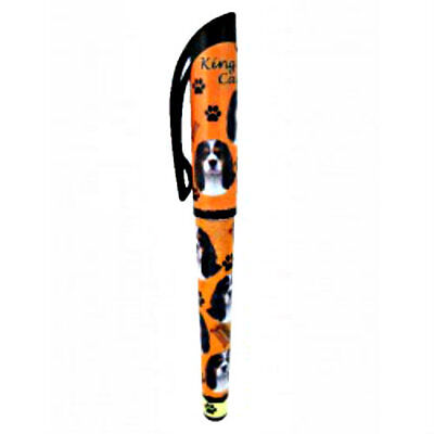 King Cavalier Tri Dog Lovers Pen Refillable Gift Puppy E & S Pets Many Breeds