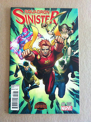 Squadron Sinister #1 Jim Cheung 1:25 Variant Cover Nm 1St Print Secret Wars 2015