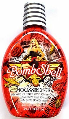 Bombshell Tanning Bed Lotion 100X Hot Tingle w/ 100XX Bronzer By Designer Skin