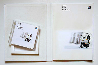 BMW C1 Original Press Pack With Disc of Images