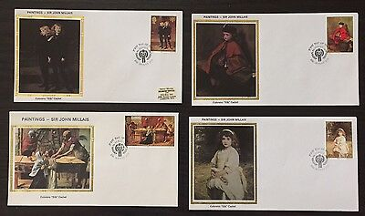 """Jersey #213-16 - IYC/Paintings FDC on Colorano """"silk"""" Cachets"""