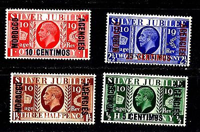 1935 Great Britain Offices Morocco sc# 226-229 FREE S/H U.S.