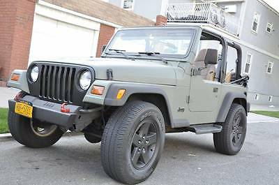 1997 Jeep Wrangler Sport 1997 Jeep Wrangler - Mostly Stock - Runs Great