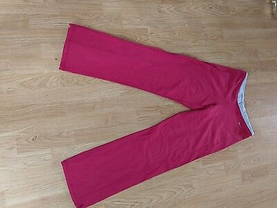 nike red training pants size s gym, fitness, sport