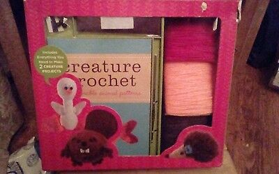 Get crafty creature crochet with 12 illustrated patterns l make adorable animals