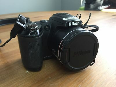 Nikon COOLPIX L120 14.1 MP Wide 21X Zoom Digital Camera - Black