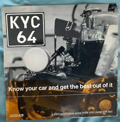"""BBC KYC 64 Know Your Car and Get the Best Out of It 7"""" EP John Miles"""