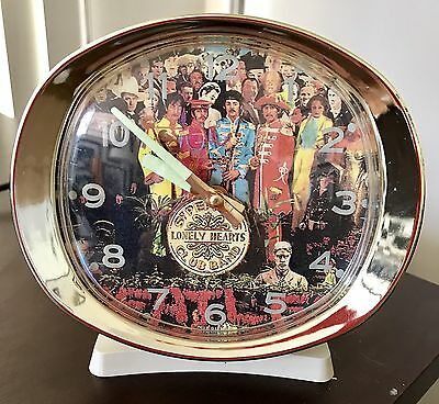 Beatles St.peppers Lonely Hearts Club Band Clock