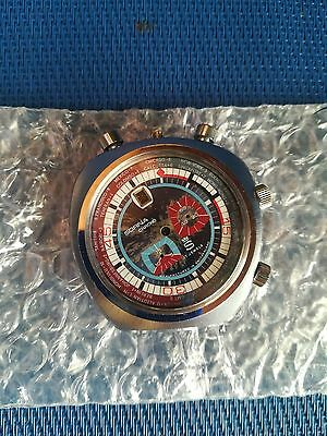 Sorna Bullhead Case, buttons, Dial, Glass and Case Back