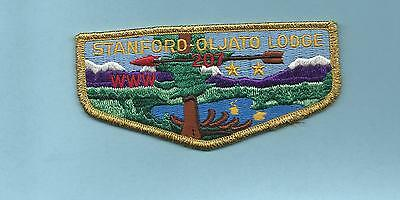 Crispy Mint Stanford-Oljato Lodge# 207 Awesome 50Th Anniversary Issue California