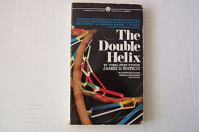 Signed Book, The Double Helix, James Watson,Nobel winning co discoverer of DNA