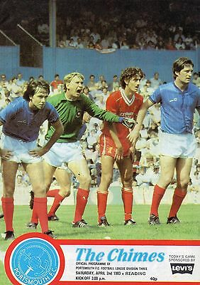 PORTSMOUTH  v  READING    82/3