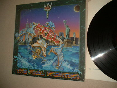 "12""33rpm Heavy metal vinyl Lp Keel ( The Final Frontier ) 1986"