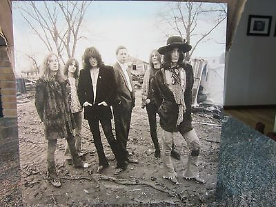 """RARE 1992 - Black Crowes - Southern Harmony 12"""" x 12"""" 2-sided Promo Poster"""