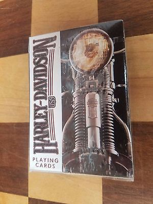 NEW/SEALED Harley Davidson Playing Cards 243-R  U.S. Playing Card Co Made in USA
