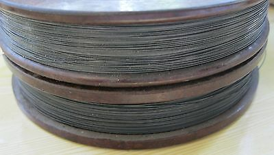 "Tungsten - wolfram / Rhenium Wire, W80/Re20 0.35 mm (.0138"") x 10"" - 250 mm."