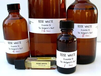 Rose White Essential Oil Special Wiccan Craft 1oz Pagan Altar Ritual Spell
