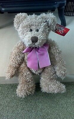 Rare Retired Russ Berrie Bear Harlington No: 100286