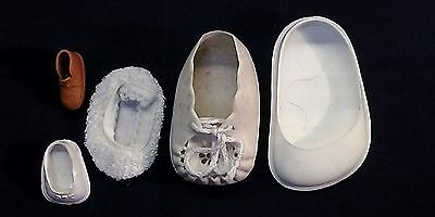 joblot 5 doll shoes /diff. colours /diff. sizes/ Germany